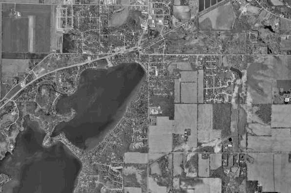 Twin Lakes Aerial Photo 1